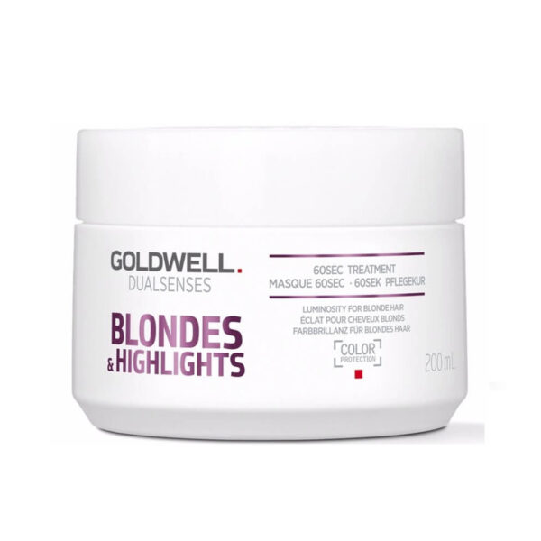 Goldwell Duals Blondes and Highlights 60 sec treatment